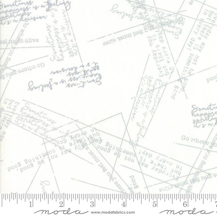 Modern BG More Paper White Lines & Words