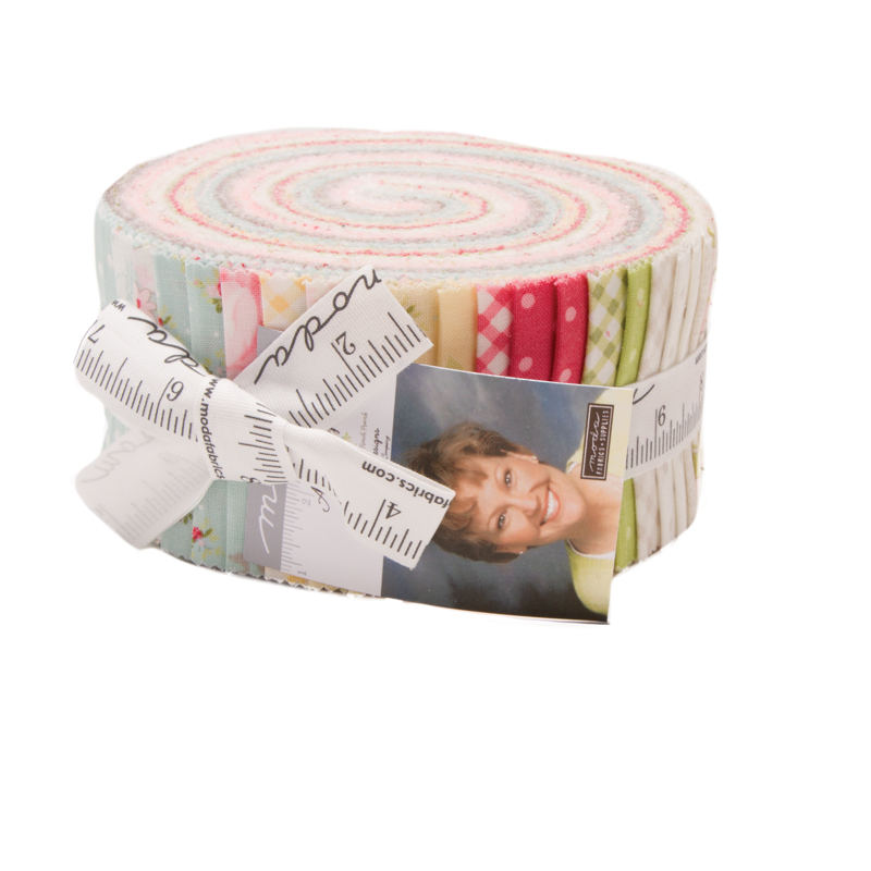 Amberley Jelly Roll - Brenda Riddle Designs - Moda