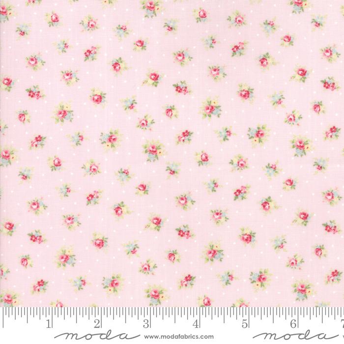 18671 15 Amberley Peony Little Rose Polka Dots by Moda