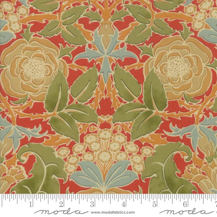 Fabric - Voysey 2018 Russet - 7320-15