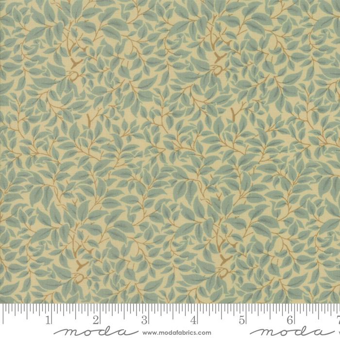 Fabric - Voysey 2018 Seafoam - 7328 14