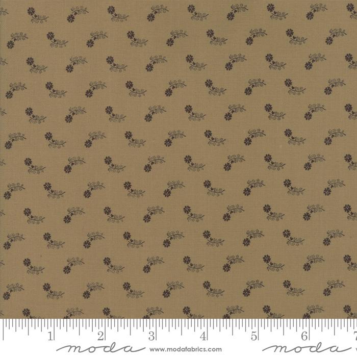Moda Fabrics - Flower Garden BG Gatherings -  Paper Bag - 1241 26