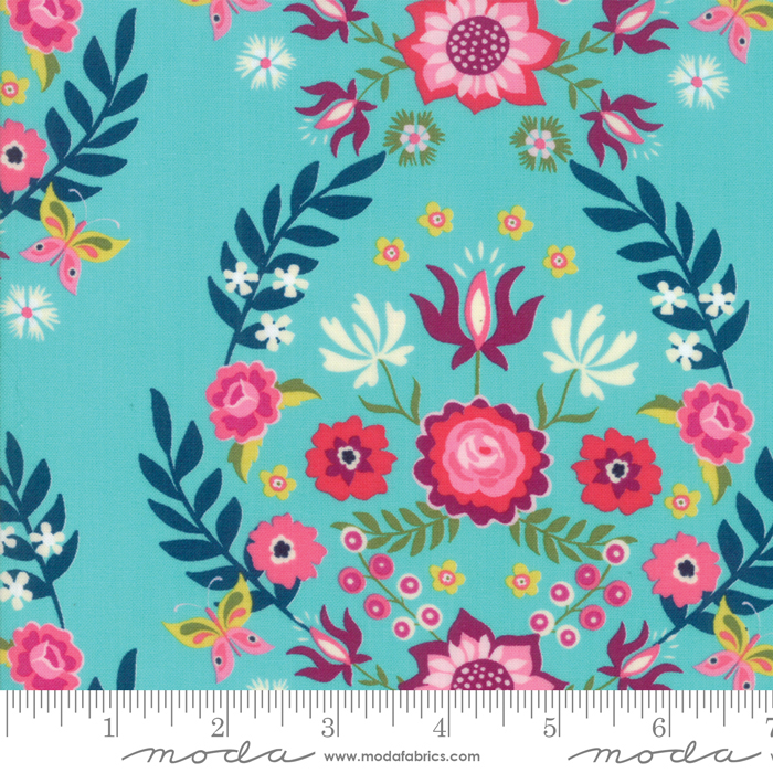 11820 14 Bermuda Rosa by Crystal Manning for Moda. 100% cotton 43 wide