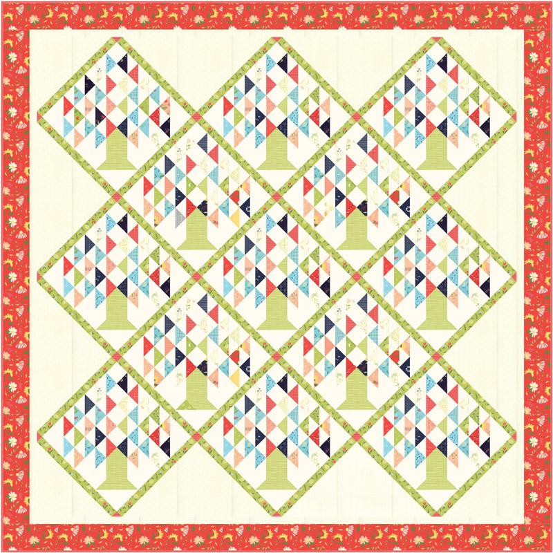 Clover Hollow Quilt Kit by Sherri & Chelsi for Moda KIT37550