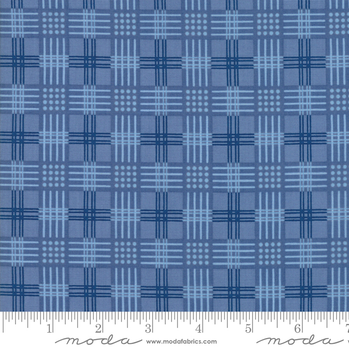 42324 14 Regency Ballycastle - English Blue Drumshanbo by Christopher Wilson Tate for Moda