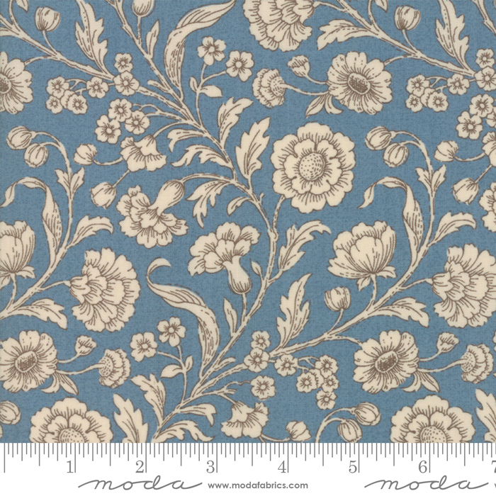 Fabric - Vive La France Woad