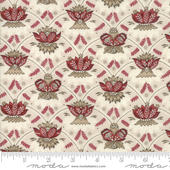 Moda Fabrics - French General - Vive La France - 13832 12