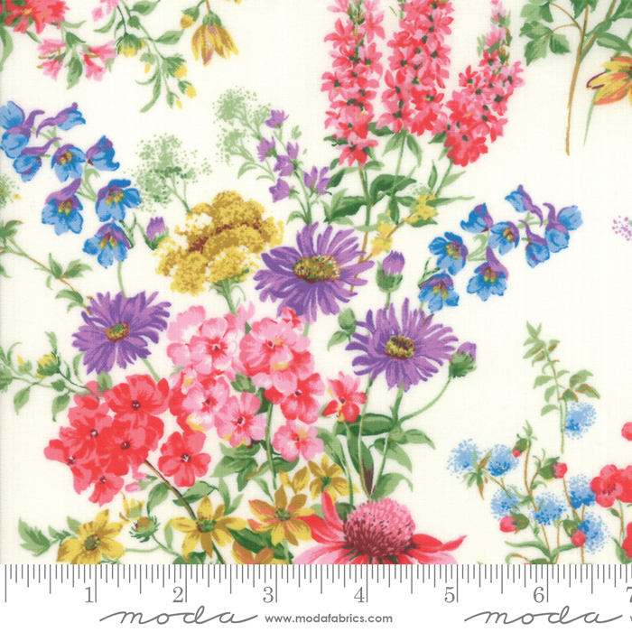 Wildflowers IX Linen