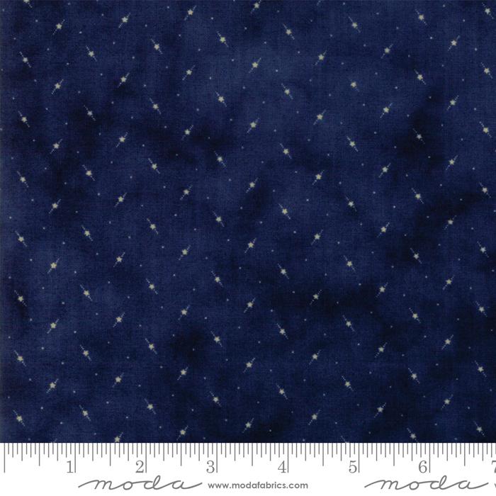 Star Stripe Gatherings  Blue 1266-17