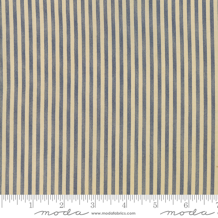 Star Stripe Gath Tan Blue