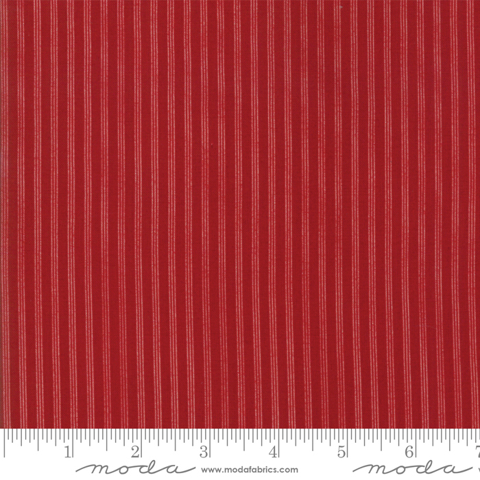 MODA STAR STRIPE Gath Red