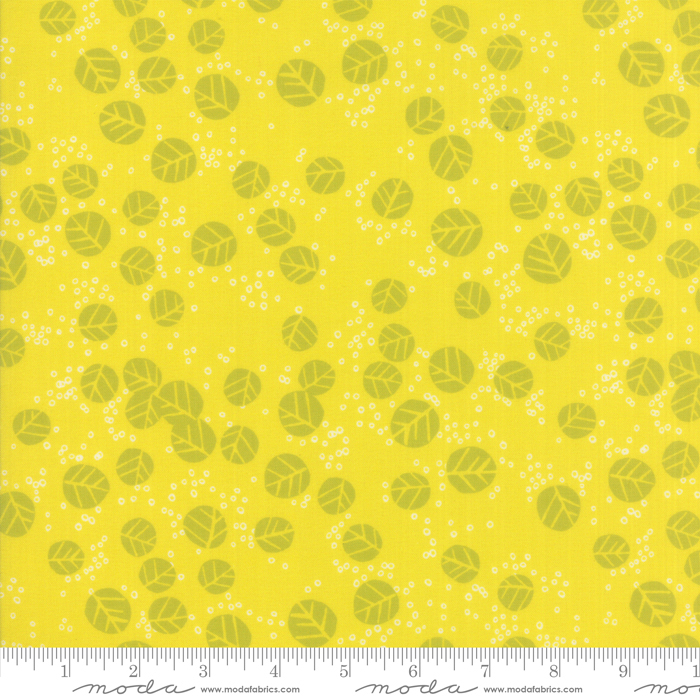 11835 15 Growing Beautiful Citrine by Crystal Manning for Moda Fabrics. 100% cotton 43 wide