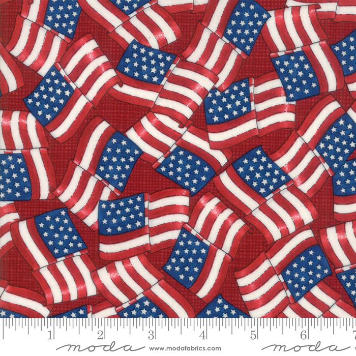 19883 14 Land That I Love Patriotic Red
