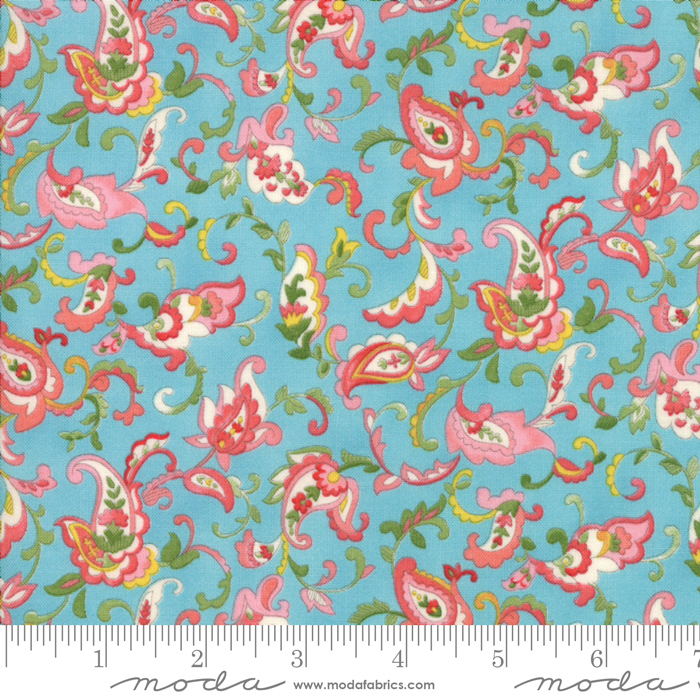 Coco Paisley Bluebell 33392 15
