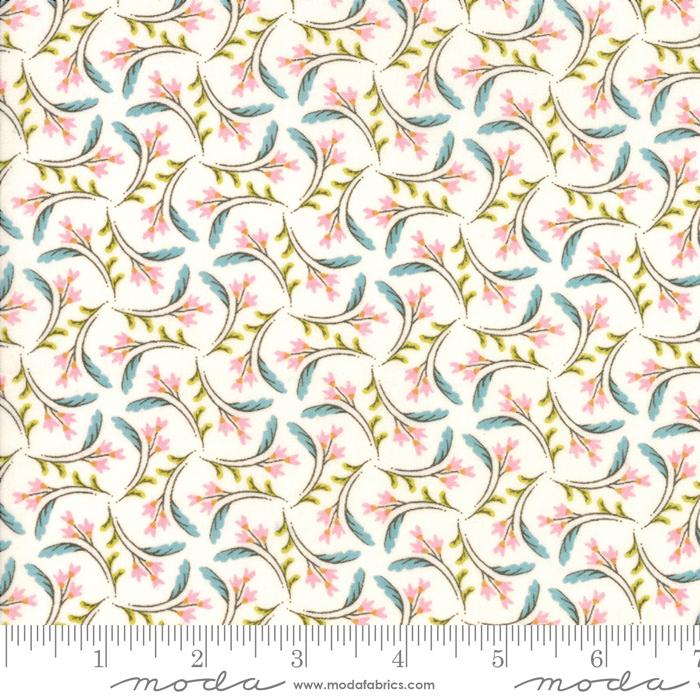Nova Pinwheel Pink Bleached Linen