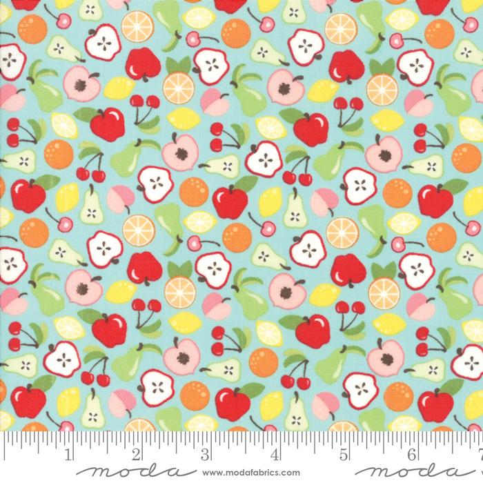 Orchard Bounty Sky Blue