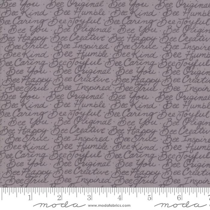 Bee Joyful  - Dove Grey with words