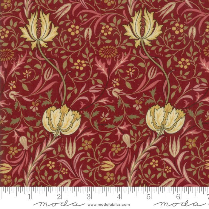 Morris Garden 7331-13 Crimson