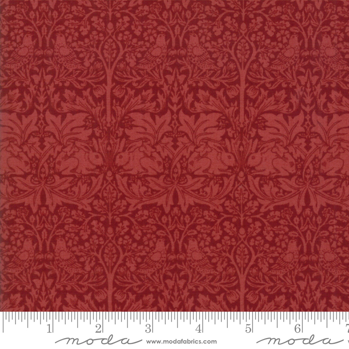 Morris Garden 7333-19 Crimson
