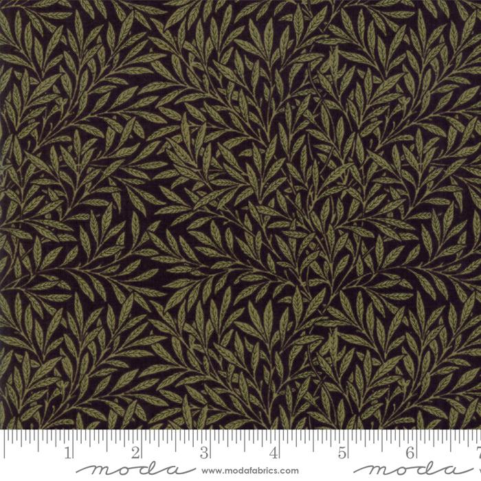 Morris Garden Willow - Ebony - 7336-15