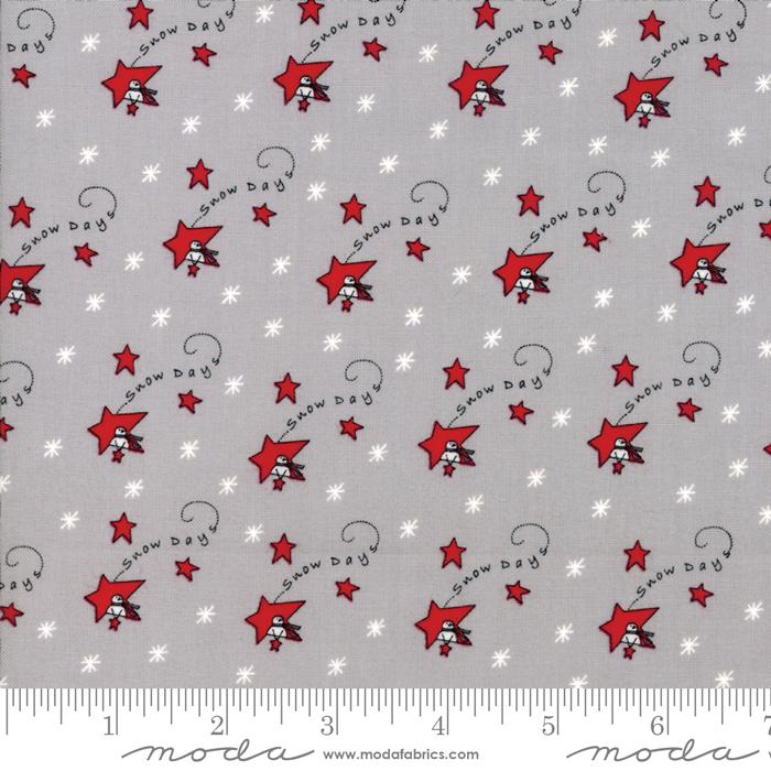 Merry Merry Snow Days Grey