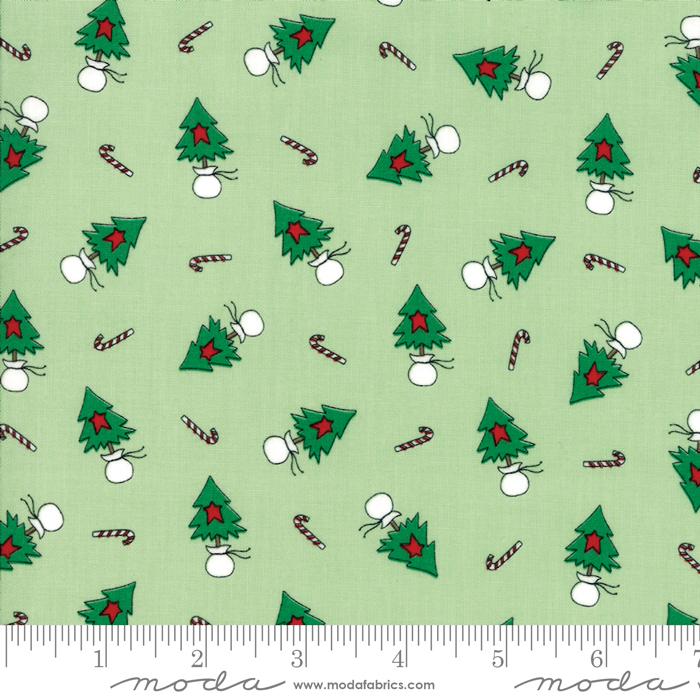 Merry Merry Snow Days Spearmint