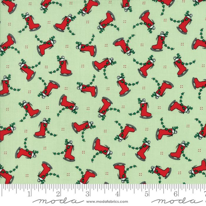 Merry Merry Snow Days Spearmint 2943 12