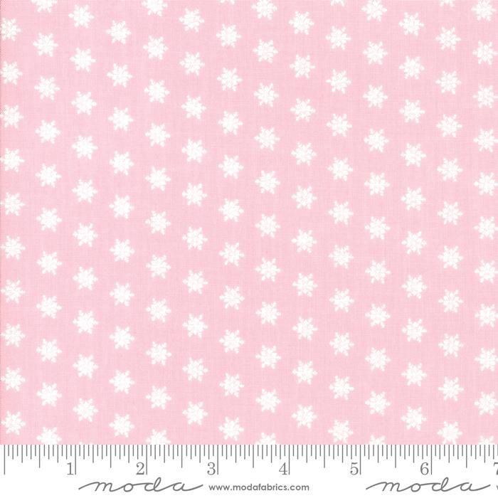 Merry Merry Snow Days Pink Snowflake
