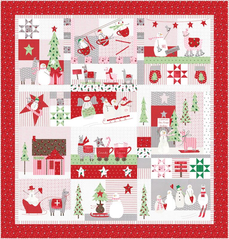 Merry Merry Snow Days Quilt Kit