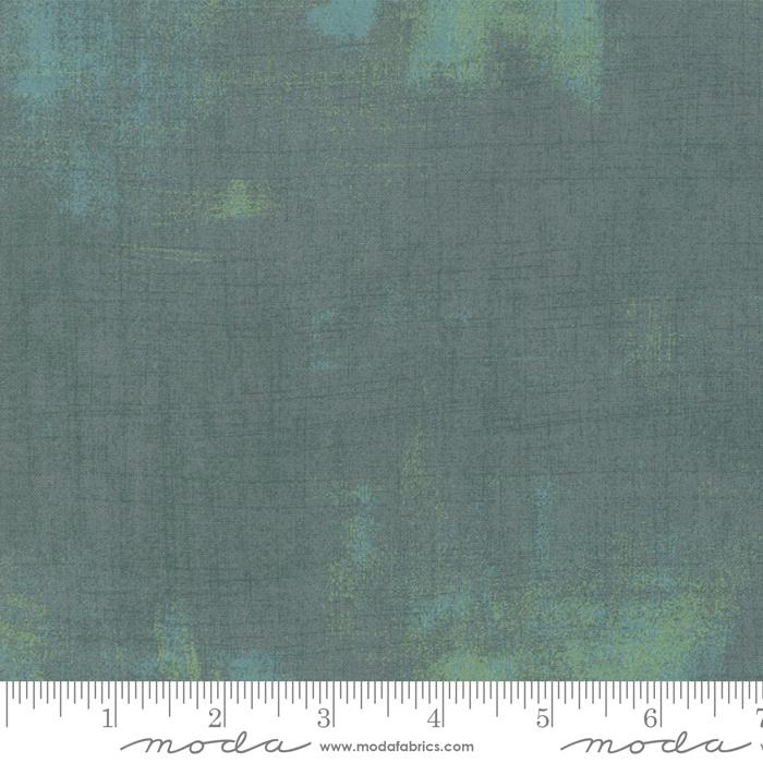 Moda Kringle Claus Grunge Blue Spruce 30150 513