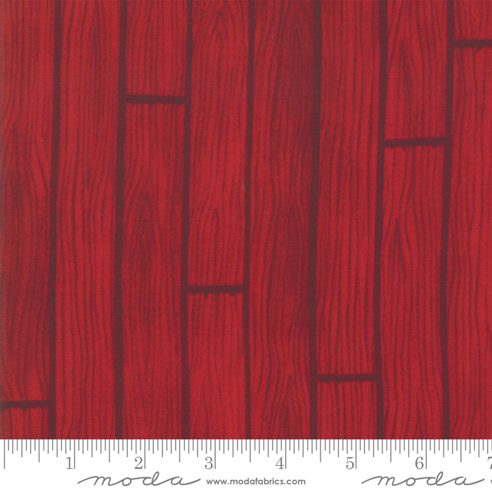 1361 Holiday Lodge Berry Red