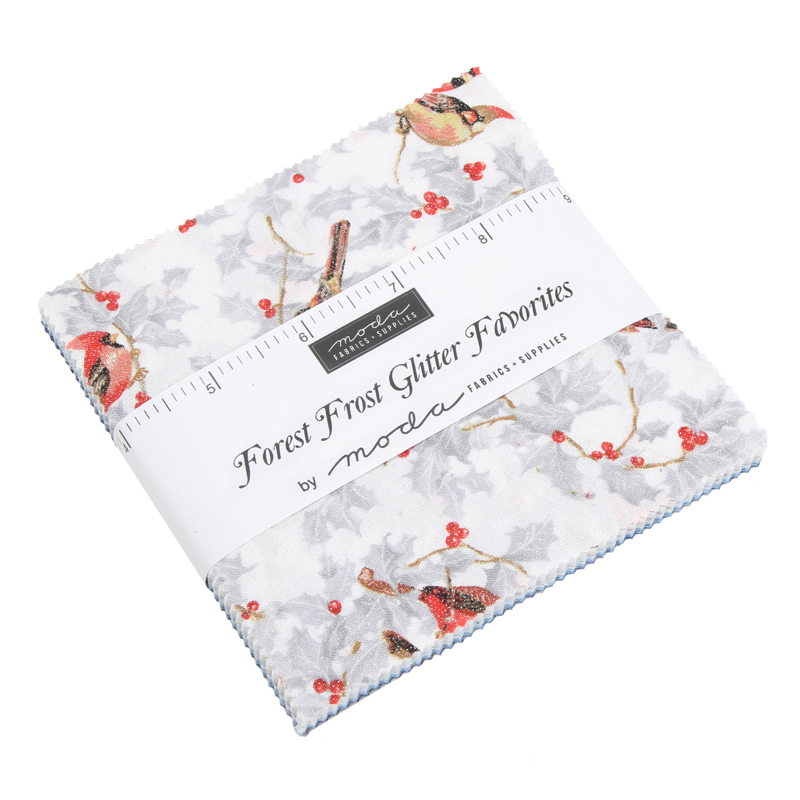 Forest Frost Glitter Favorites Charm