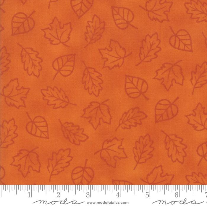 Thankful Orange Leaves  1990313