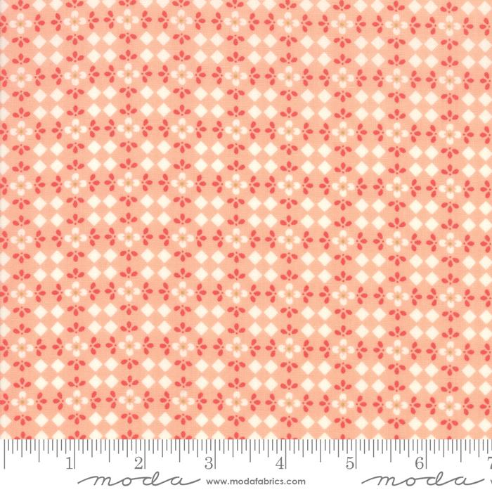 Harpers Garden - Geometric - Coral
