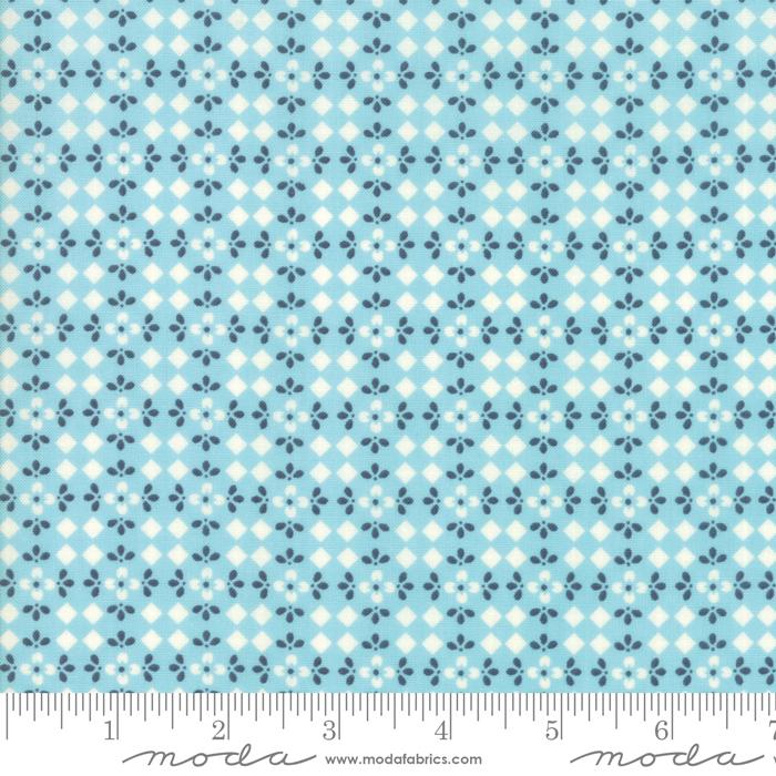 Harpers Garden - Geometric - Aqua
