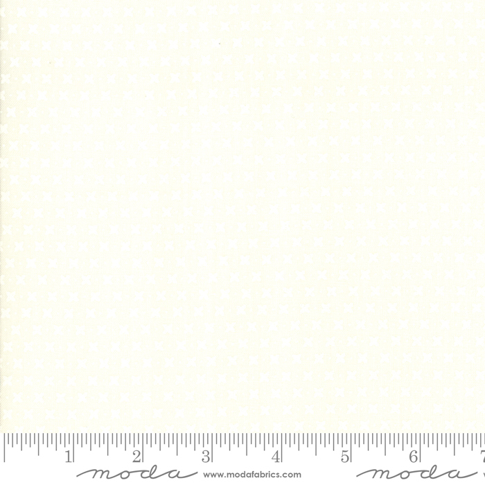 Harpers Garden-Criss Cross-Tonal Ivory