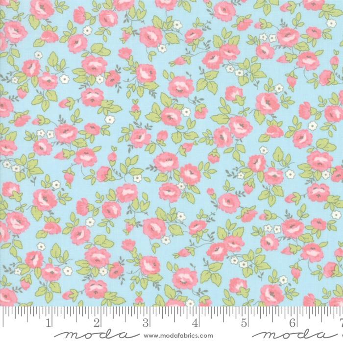 Finnegan Sky Field Floral by Brenda Riddle for Moda 18681-12
