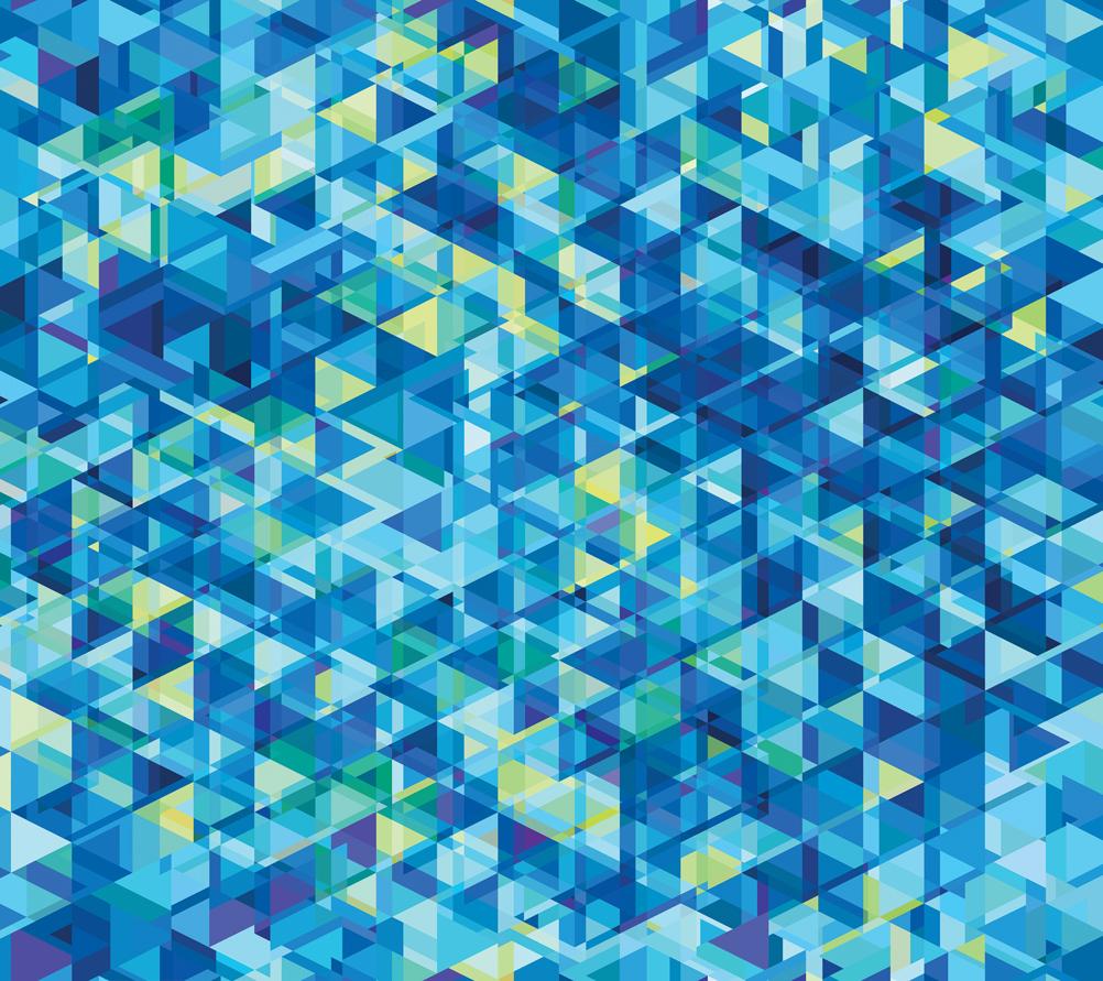Gradients Kaleidoscope Digital Blue Geometric