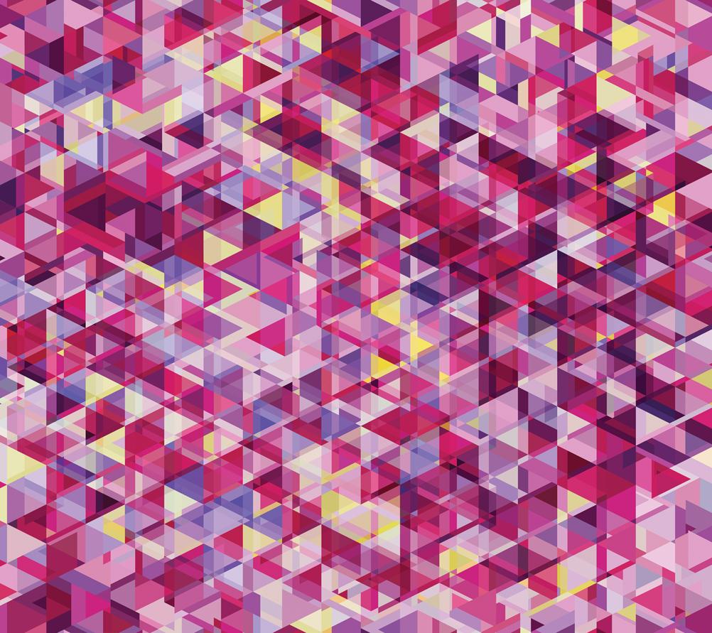 Gradients Kaleidoscope Digital Pink Geometric