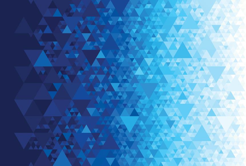 Gradients Kaleidoscope Digital Blue