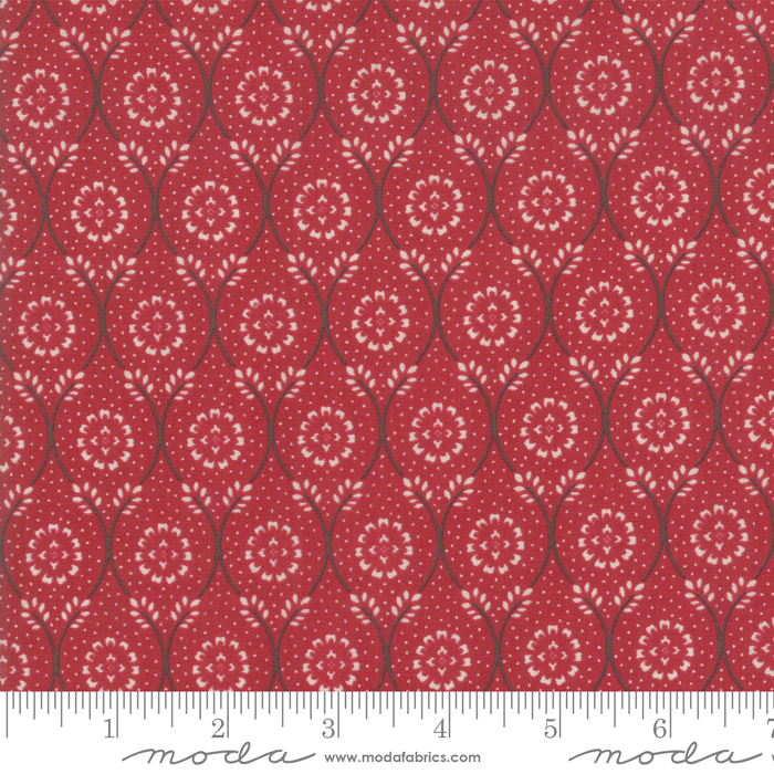 Fabric - Chafarcani Rouge