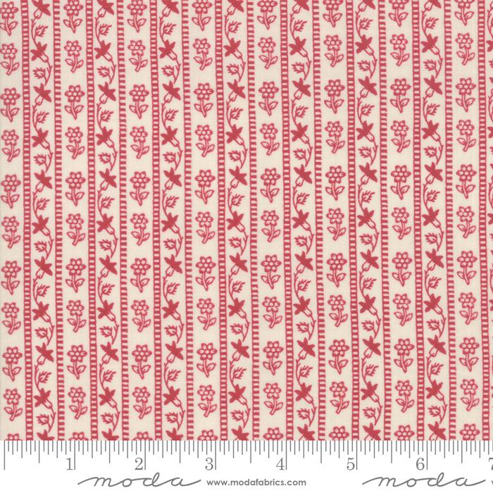 Chafarcani Rouge Pearl Stripe