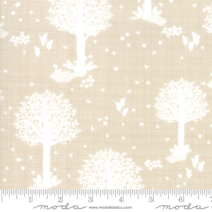 Wonder by Kate and Birdie - Enchanted Forest - Natural - Moda 13191 18