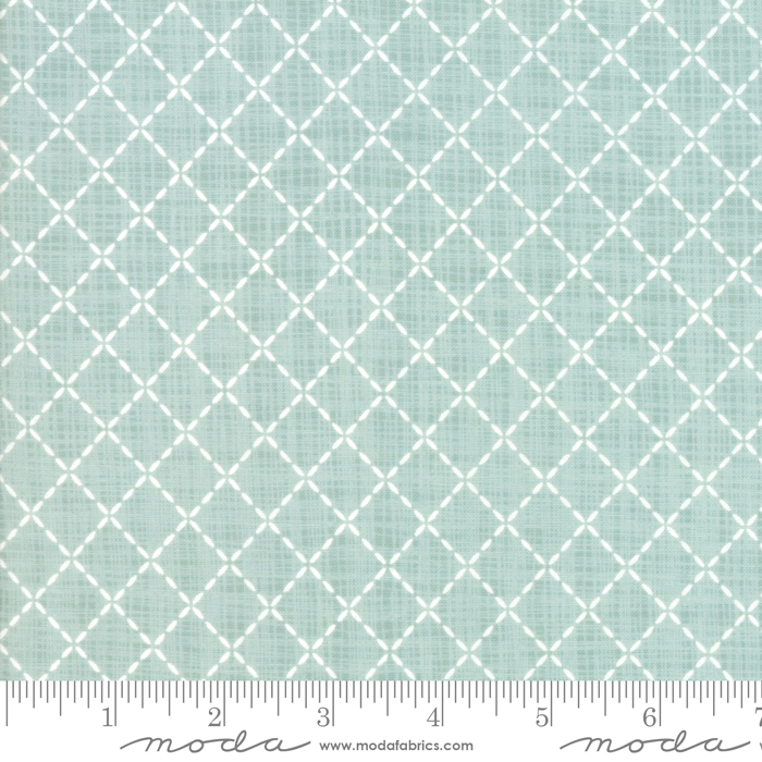 Wonder by Kate and Birdie - Quilted - Aqua - Moda 13197 16