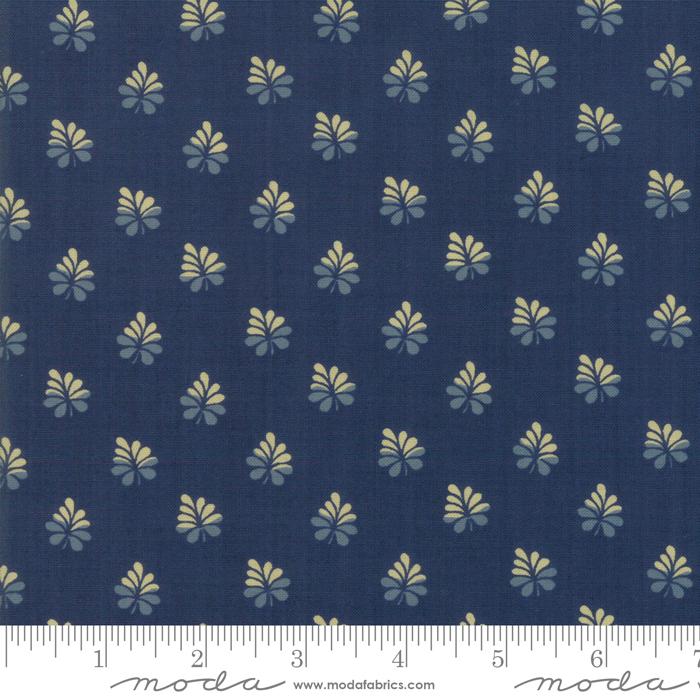 Fabric - Sarahs Story Indigo - 31596 18