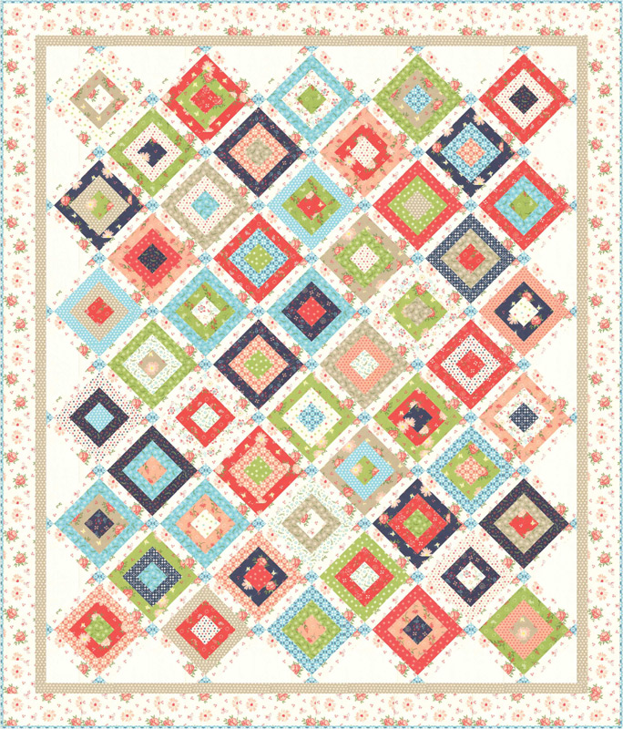 Harpers Garden Kit - 58 x 68 - Sherri and Chelsi - Moda