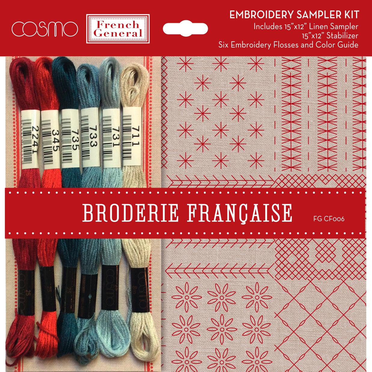 Broderie Francaise 15 x 12