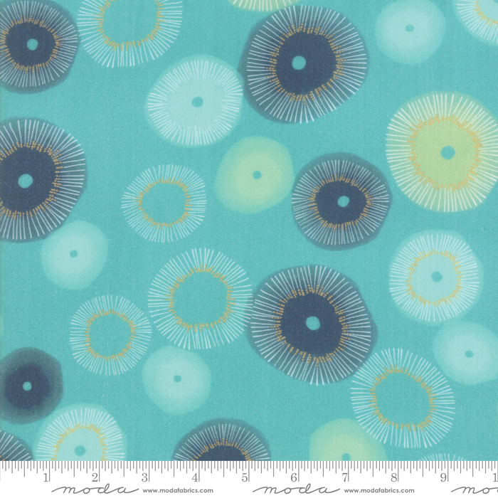 54 Zen Chic Rayons Teal