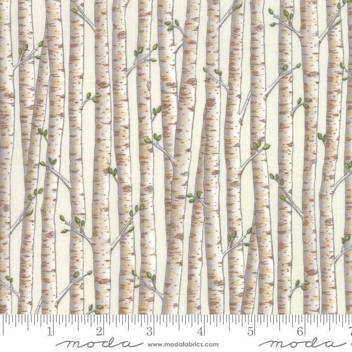 Explore Birch White Birch Trees by Deb Strain for Moda 19916-11