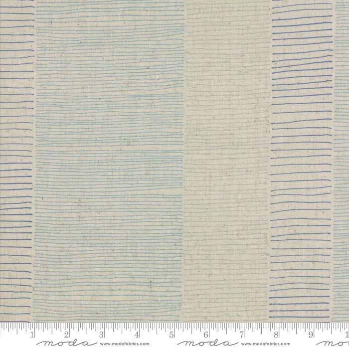 Zen Chic Mochi Linen Flax Blue